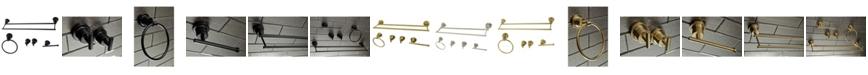 Kingston Brass Concord Dual-Towel Bar 5-Pc. Bathroom Accessory Set