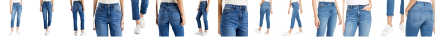 OAT Cropped Straight-Leg Jeans