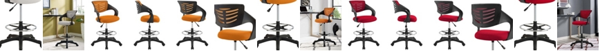 Modway Thrive Mesh Drafting Chair