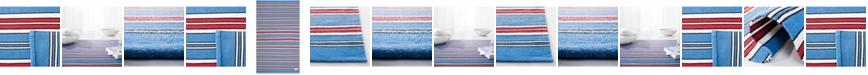 Lauren Ralph Lauren  Leopold Stripe LRL2462D Royal Blue Area Rug Collection