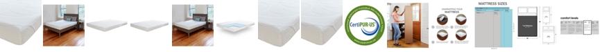"Sleep Trends Sofia Plush Gel 7"" Mattress, Quick Ship, Mattress in a Box - Full"