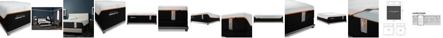 "Tempur-Pedic TEMPUR-LuxeAdapt 13"" Firm Mattress Set- California King, Split Box Spring"