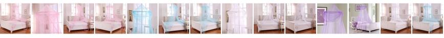Epoch Hometex inc Cottonloft Raisinette Kids Collapsible Hoop Sheer Mosquito Net Bed Canopy