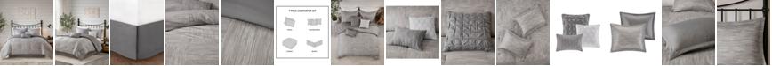 Madison Park Walter Queen 7-Pc. Printed Seersucker Comforter Set