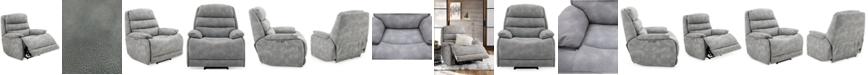 "Furniture Ferteno 39"" Fabric Dual Power Recliner"