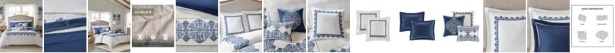 Madison Park Signature Indigo Sky Queen 8-Pc. Comforter Set