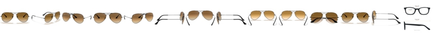 Ray-Ban Unisex Sunglasses, RB3025 58 AVIATOR Collection