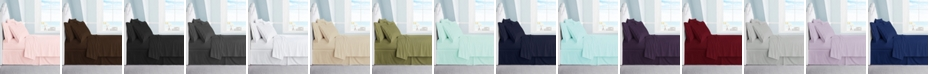 Swift Home Ultra Soft 1800 Collection Brushed Microfiber King Sheet Set With 2 Bonus Pillowcases