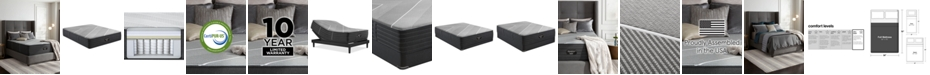Beautyrest X Class Hybrid 15'' Ultra Plush Mattress Set- Full
