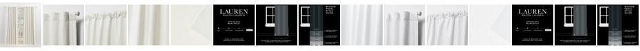 "Lauren Ralph Lauren Waller Blackout Solid Tab/Rod Pocket Curtain Panel, 52"" x 84"""