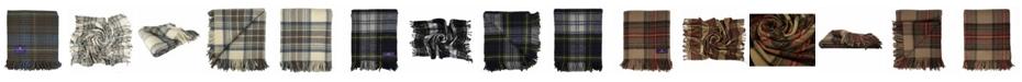 Prince of Scots Highland Tartan Tweed Pure New Wool Throw