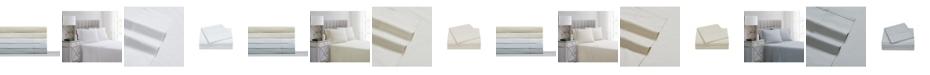 Charisma 400TC Percale Cotton Twin Sheet Set