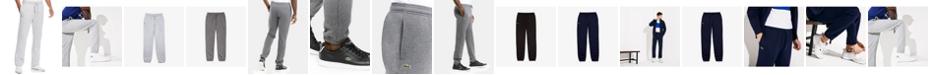 Lacoste Fleece Sweat Pants with Elastic Leg Opening