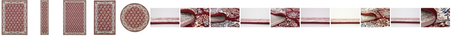 Bridgeport Home Zara Zar6 Burgundy Area Rug Collection