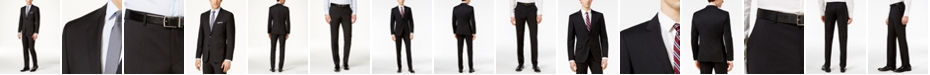 Hugo Boss HUGO Men's Black Classic-Fit Suit Separates