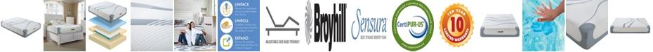 "Broyhill Sensura 12"" Twin XL Cooling Gel Memory Foam Mattress"