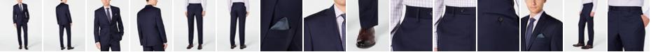 Lauren Ralph Lauren Men's Slim-Fit UltraFlex Stretch Navy Solid Suit Separates