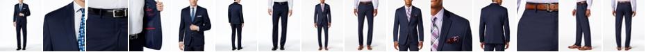Alfani Men's Traveler Navy Solid Slim-Fit Suit Separates, Created for Macy's