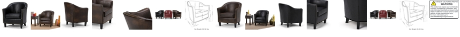 Simpli Home Kildare Tub Chair