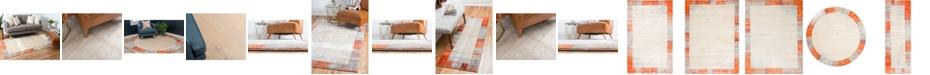 Bridgeport Home Haven Hav4 Orange Area Rug Collection