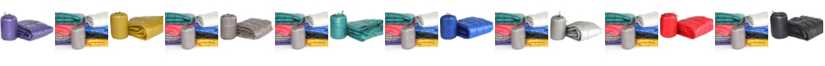 """Epoch Hometex inc PUFF 50"""" x 60"""" Down Alternative Indoor/Outdoor Water Resistant Packable Throw"""