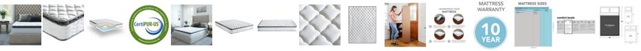 "Sleep Trends Davy 10"" Wrapped Coil Pillowtop Firm Mattress, Mattress in a Box - Full"