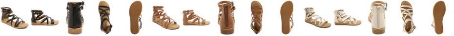 kensie Women's Lanica Woven Ankle Sandal