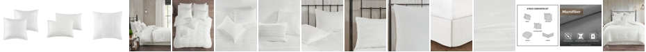 JLA Home 510 Design Jenda Queen 8 Piece Comforter Set
