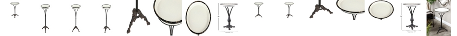 """Rosemary Lane Traditional 29"""" x 15"""" Traditional Round Accent Table"""