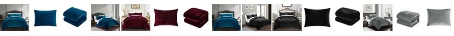 Chic Home Chyna 3-Pc. King Velvet Comforter Set
