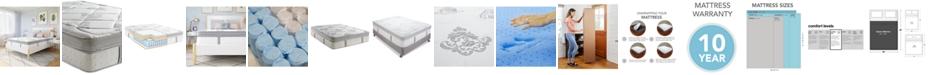 """Sleep Trends Hartz 14"""" Wrapped Coil Hybrid Box Top Mattress- Queen, Mattress in a Box"""