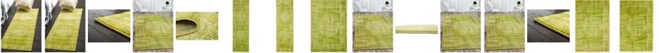 Bridgeport Home Linport Lin5 Light Green Area Rug Collection