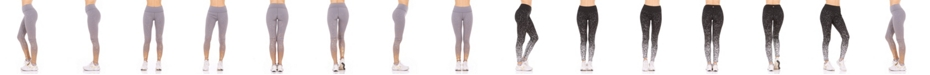 Therapy All Over Metallic Print Mid-Rise Leggings