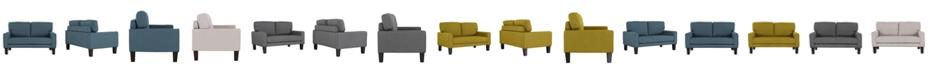 Us Pride Furniture Marilou Modern Style Loveseat