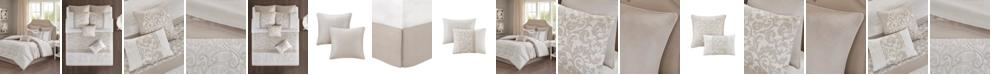 JLA Home 510 Design Ramsey King Embroidered 8 Piece Comforter Set