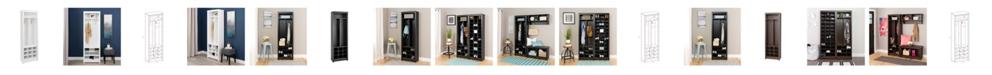 Prepac Space-Saving Entryway Organizer with Shoe Storage