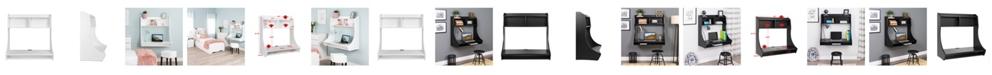 Prepac Compact Hanging Desk