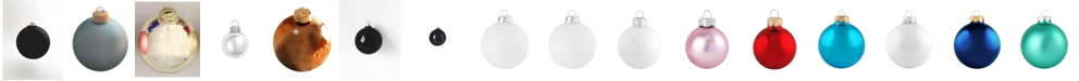 "Whitehurst 2.75"" Glass Christmas Ornaments - Box of 12"