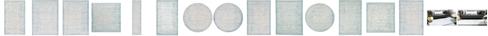 Bridgeport Home Norston Nor1 Blue Area Rug Collection