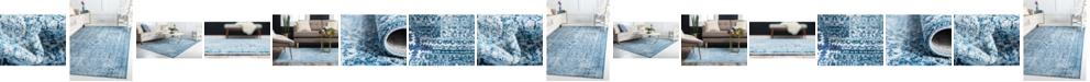Bridgeport Home Zilla Zil3 Navy Blue Area Rug Collection
