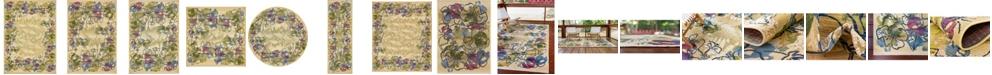 Bridgeport Home Pashio Pas1 Ivory Area Rug Collection