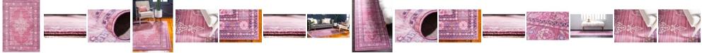 Bridgeport Home Malin Mal2 Pink Area Rug Collection