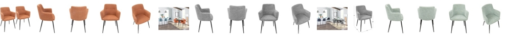 Lumisource Andrew Chair, Set of 2