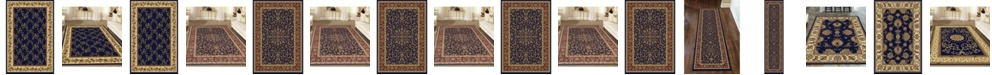 KM Home Navelli Blue Area Rug Collection