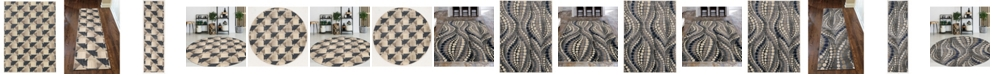 KM Home Imperia Gray Area Rug Collection