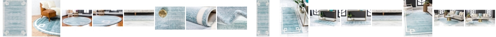 Jill Zarin  Lenox Hill Uptown Jzu005 Turquoise Area Rug Collection