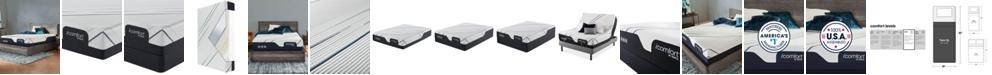 Serta iComfort by CF 3000 12.5'' Plush Mattress Set- Twin XL