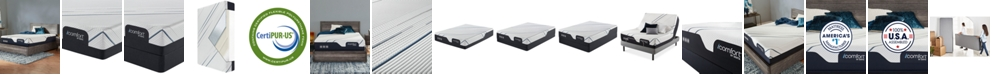 Serta iComfort CF 3000 12.5'' Plush Mattress Set- Queen Split