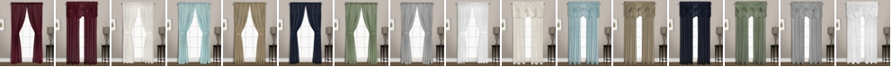 """United Curtain Co Inc Summit 74"""" X 45"""" Set With Two Panels And Two Tiebacks"""