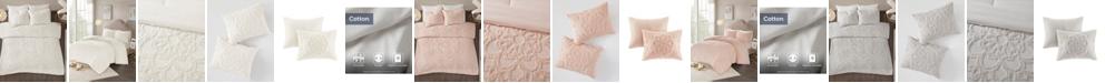 Madison Park Laetitia Full/Queen 3 Piece Cotton Chenille Medallion Comforter Set